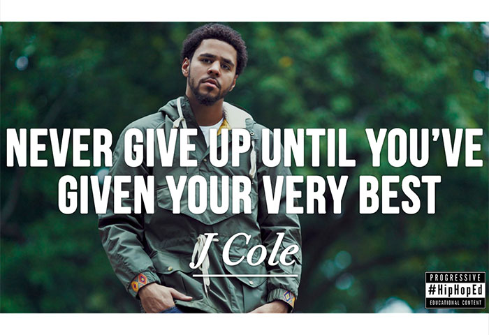 J Cole Hip Hop Education
