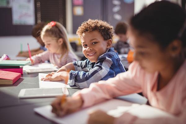 Boy PBIS School