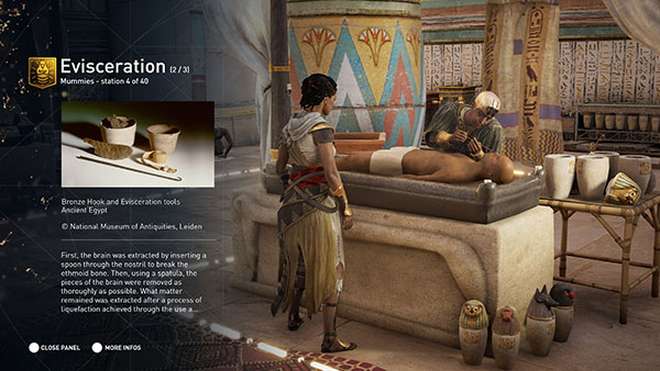 Assassin's Creed Origins Discovery Tour Mode for Education
