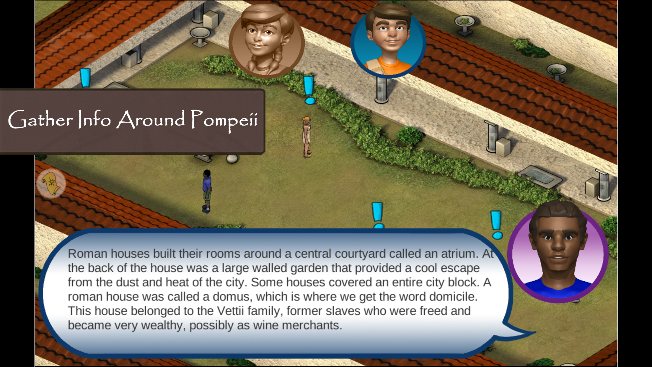 Roman Town 2 in-game screenshot