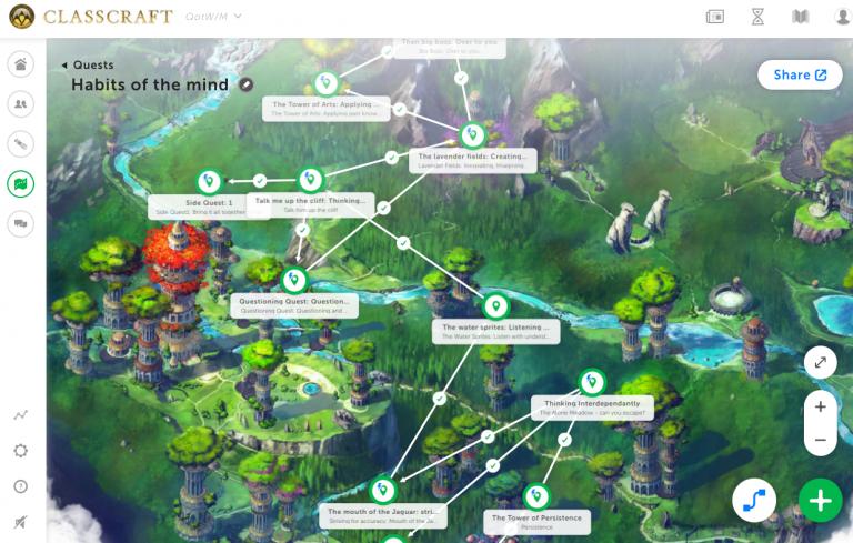 Classcraft screenshot