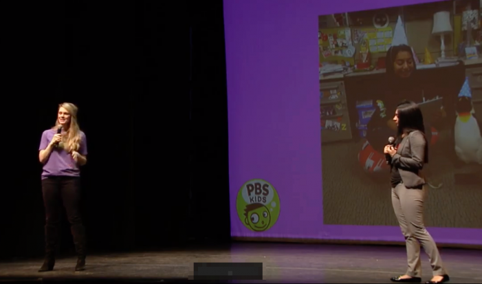 Shannon Bishop and Nita Mandar, PBSKids, @PBSKIDS  @visforbishop