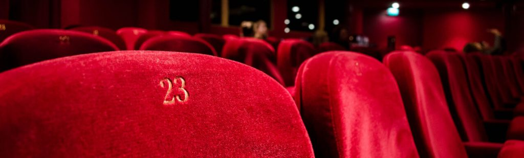 red theatre seats