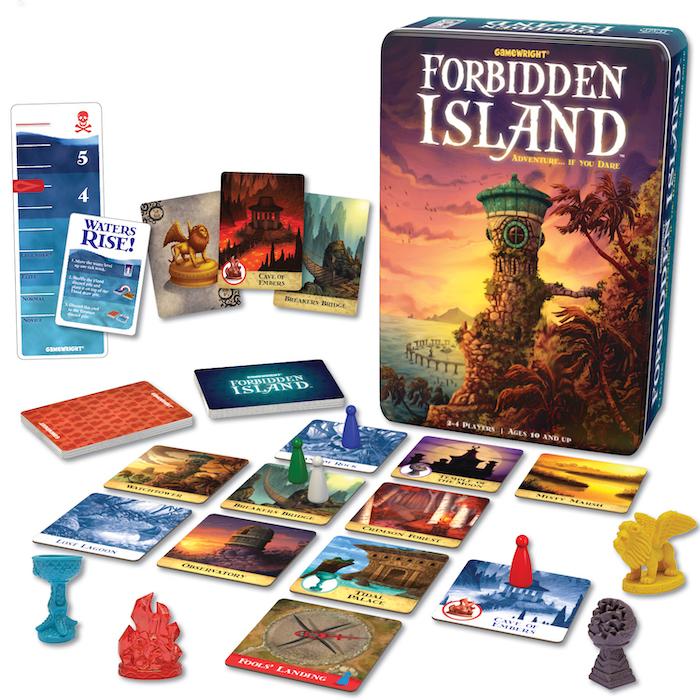 Forbidden Island and Forbidden Desert, Gamewright