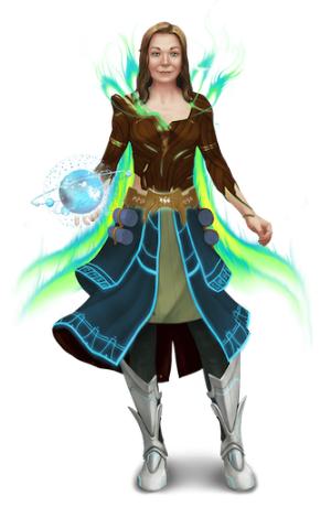 Gamemaster Lisa Rose-Jeffreys