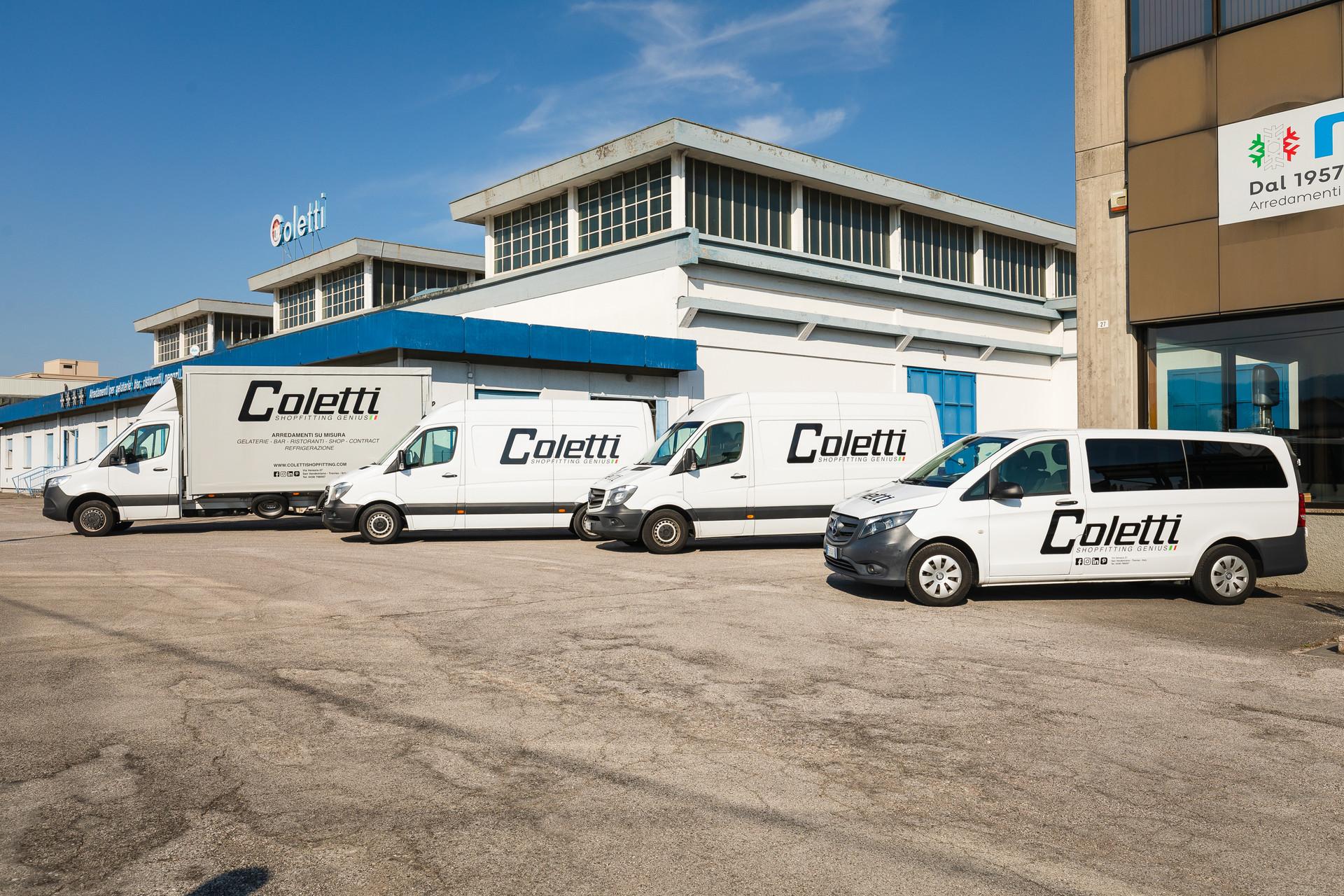 Decorazione furgoni con logo aziendale