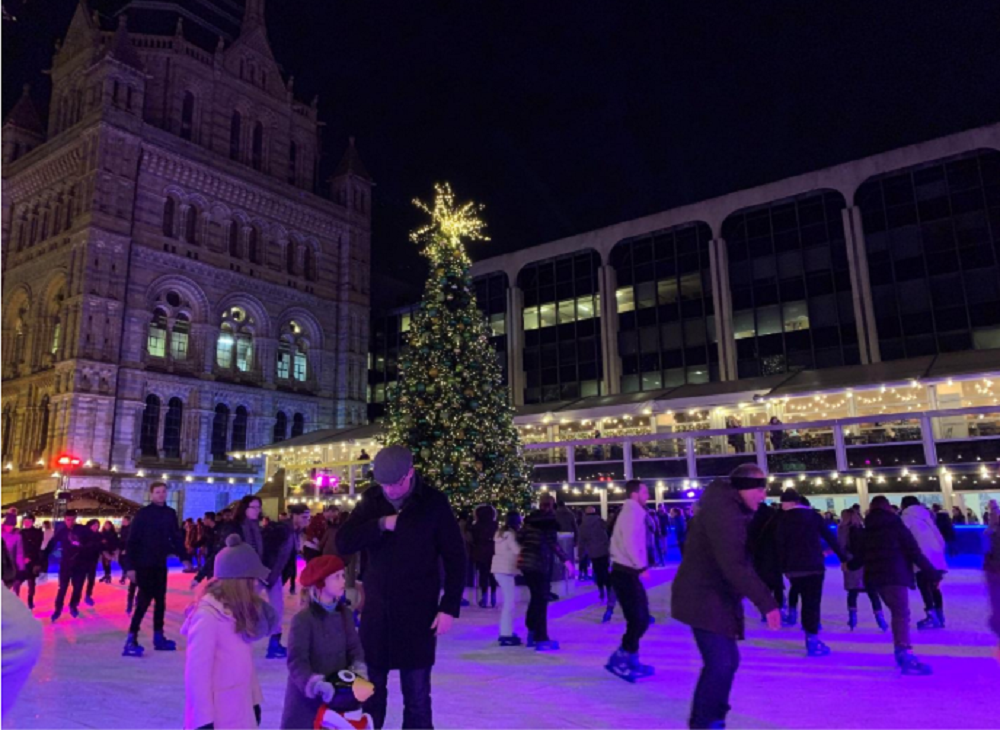 ☆Natural History Museum Ice Rink☆