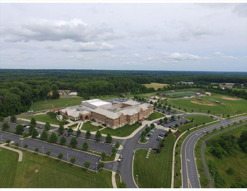 上空から見たキャンパス
