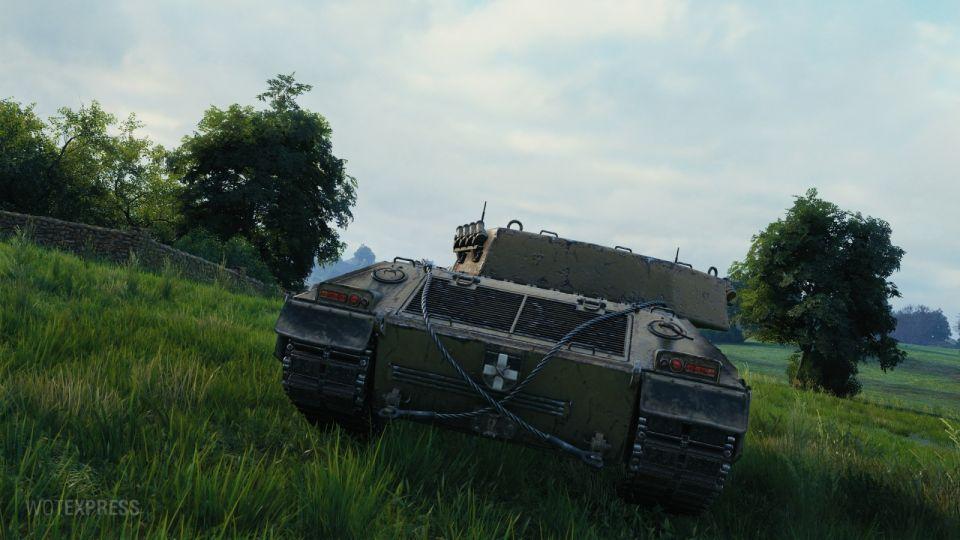 Herní obrázky tanku Rinoceronte