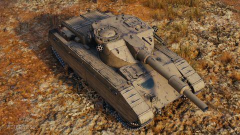 Změny vlastností tanku Caliban