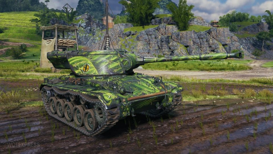 """""""Spiky armor"""" maskování pro tank T78"""