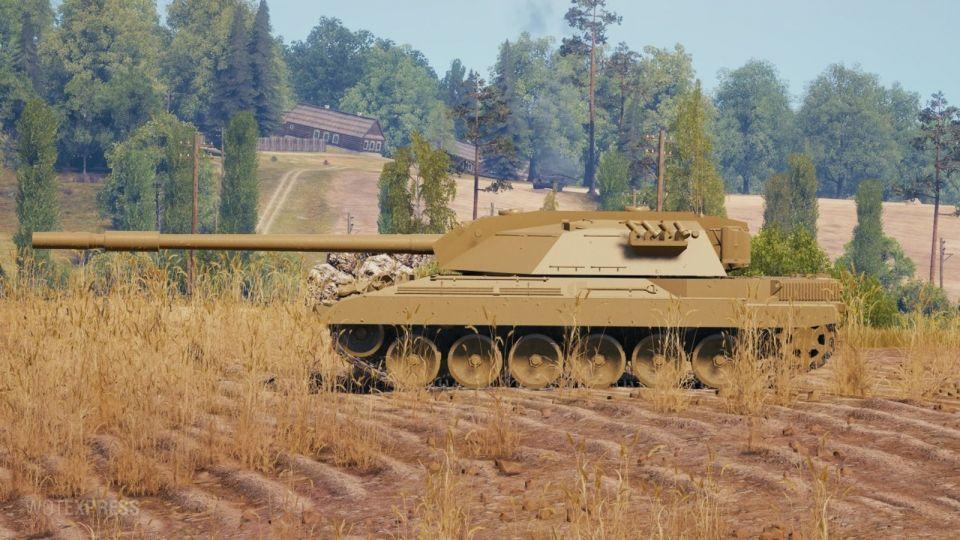 Nedokončený model tanku Carro da Combattimento 45t