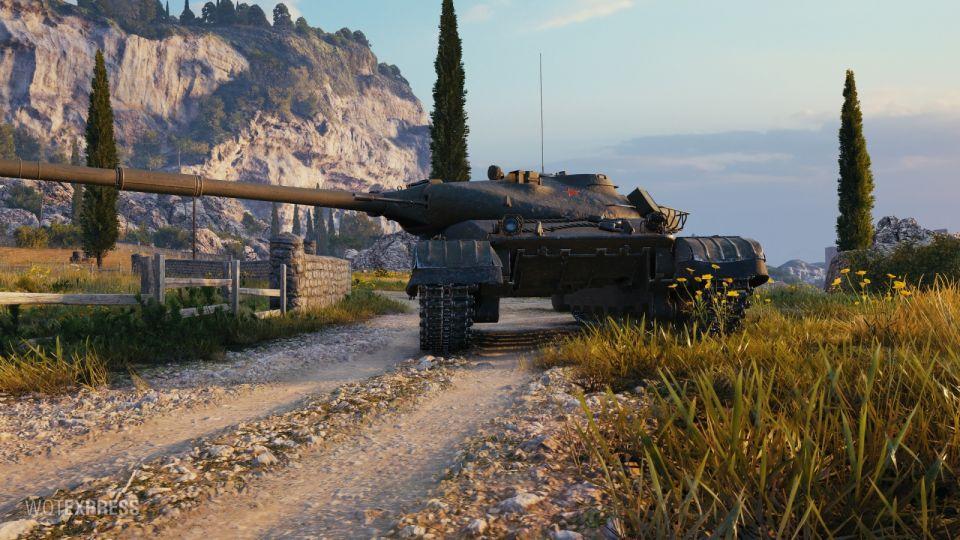 Obrázky tanku Objekt 780 z bojiště