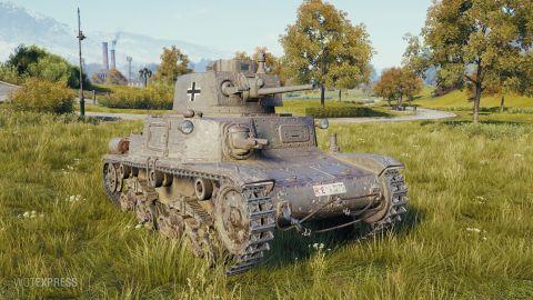 Pz.Kpfw. M15 - změna vlastností