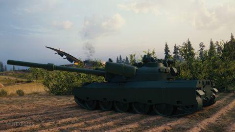 Supertest: Změna vlastností tanku 122 TM