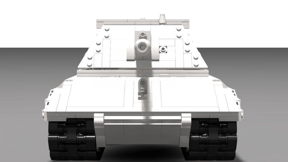 Tankové Lego: E-100
