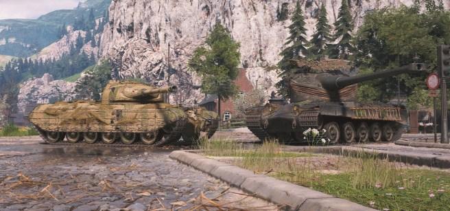 3D styly aktualizace 1.7.1 pro Progetto 35 a AMX 50B