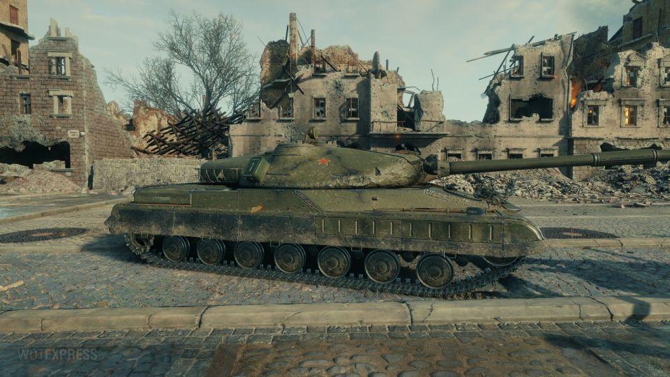 Objekt 780 In-game obrázky