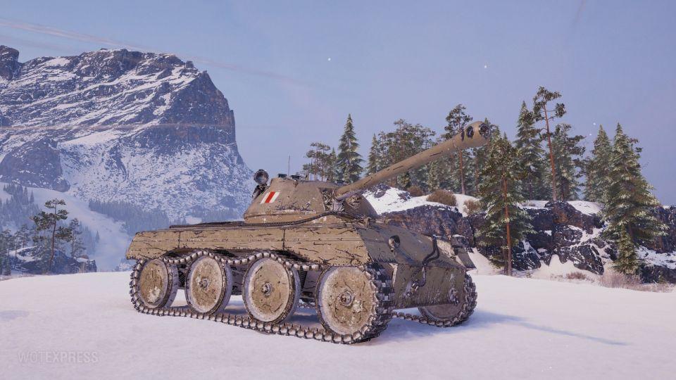 Nerf tanku A46 v aktualizaci 1.9.1