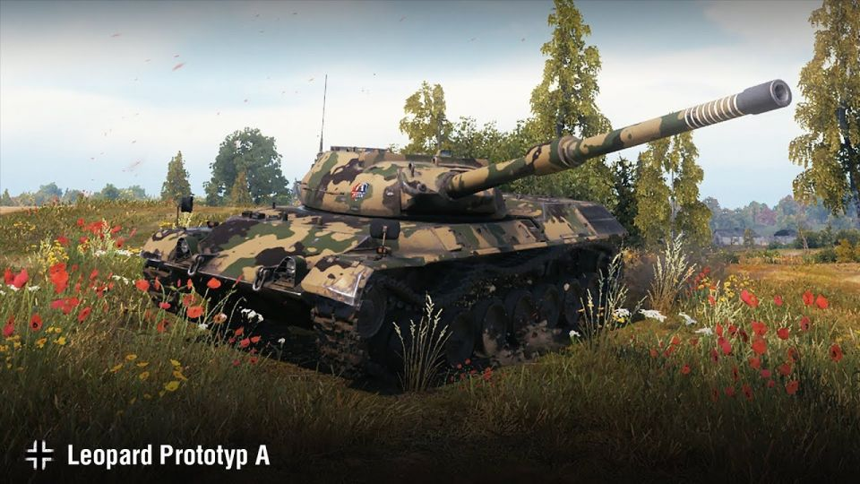 Supertest: Úpravy tanku Leopard Prototyp A