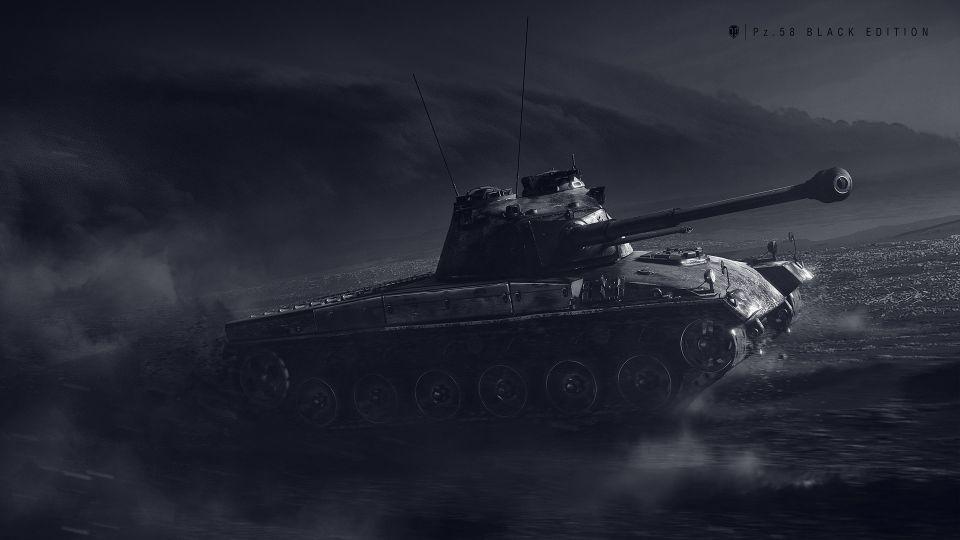 Možnost výměny Schwarzpanzer 58/Pz. 58 Mutz