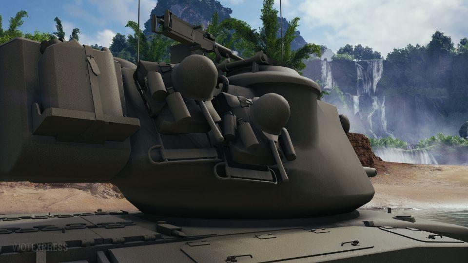 Herní fotky tanku T42
