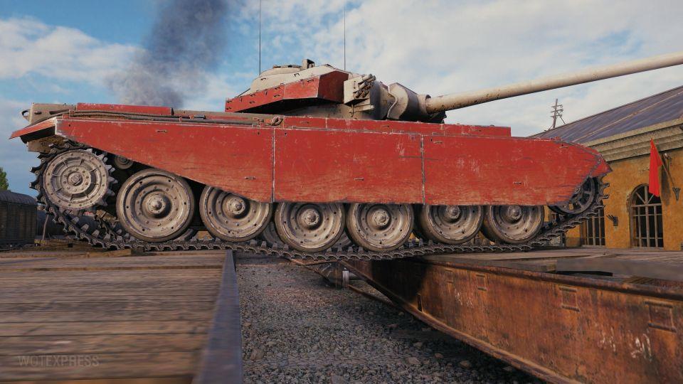 """Maskování """"Od moře k moři"""" (Centurion Mk. I)"""
