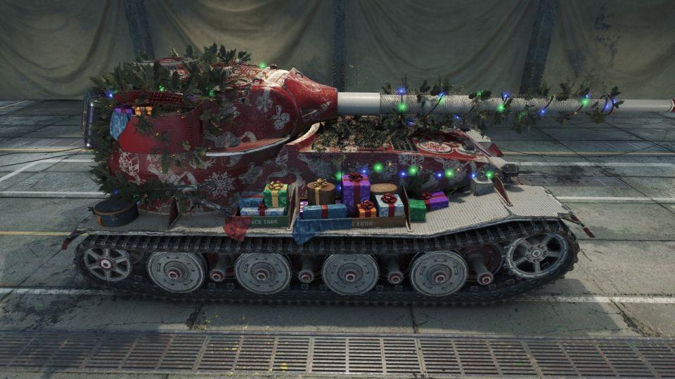 """3D Style """"Panzer Claus"""" pro Pz.Kpfw. VII"""