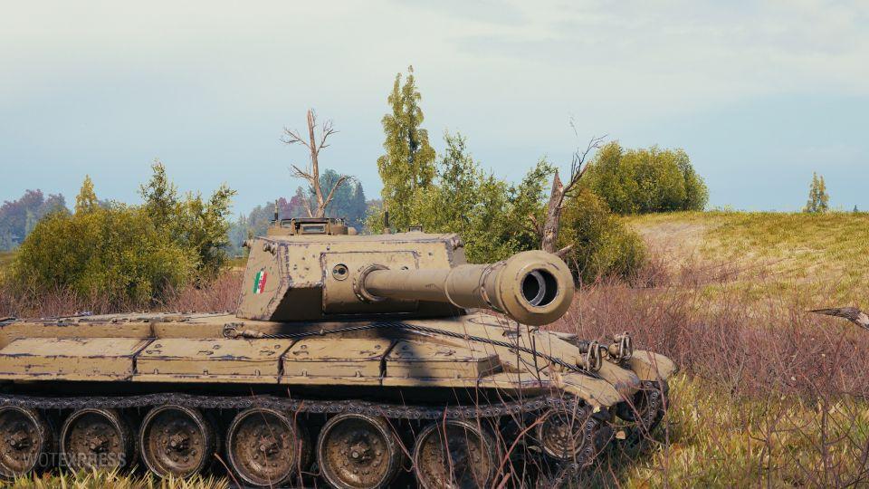 Fotky tanku Progetto CC55 mod. 54