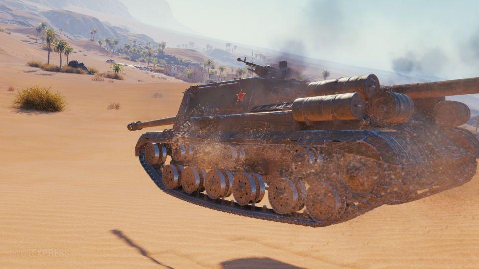 ISU-152K na bojišti
