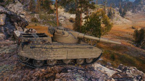 Kompletní vlastnosti tanku Caliban