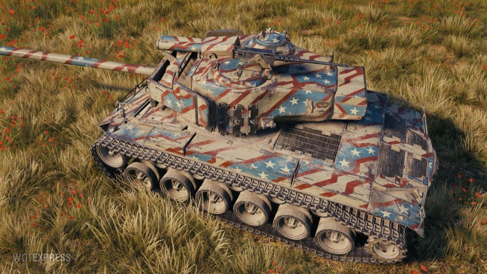 """2D Styl """"General America"""" pro T26E4 SuperPershing"""
