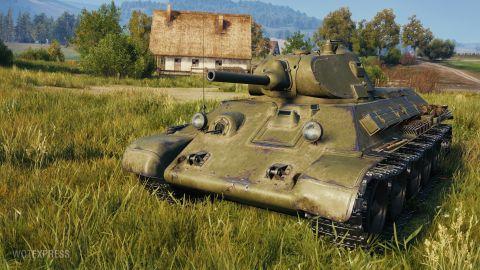 Verze 1.13: T-34 mod. 1940