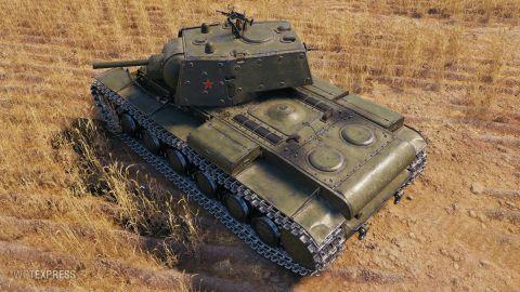 Supertest: KV-1 Shielded, změny vlastností