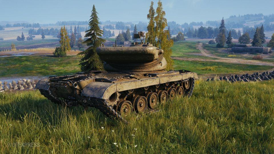 Supertest: Změny vlastností tanku T77