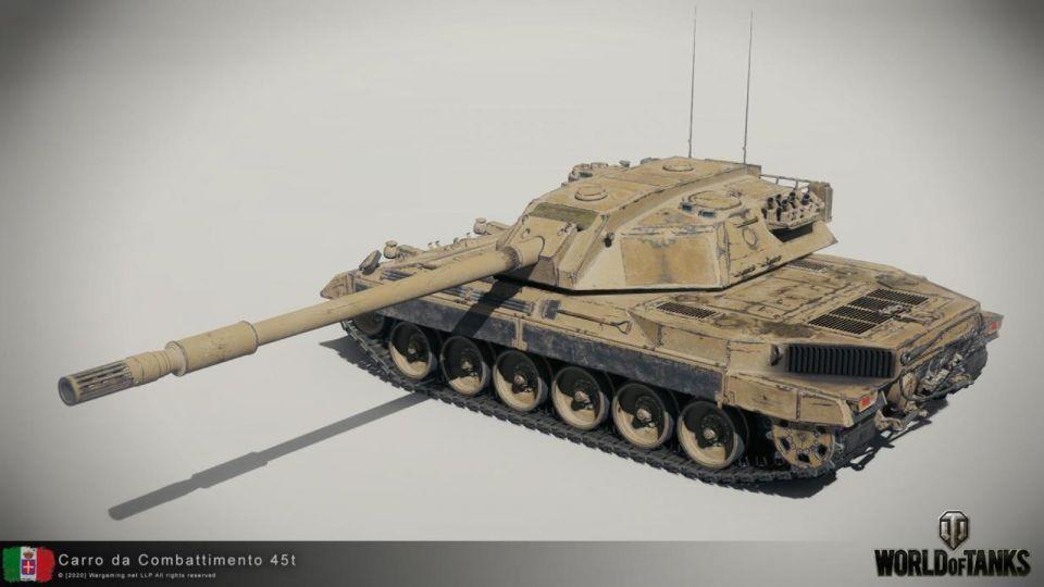 Supertest: Carro da Combattimento 45t (Kompletní vlastnosti)