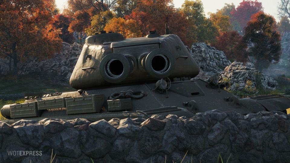 Supertest: Změny dvouhlavňových tanků