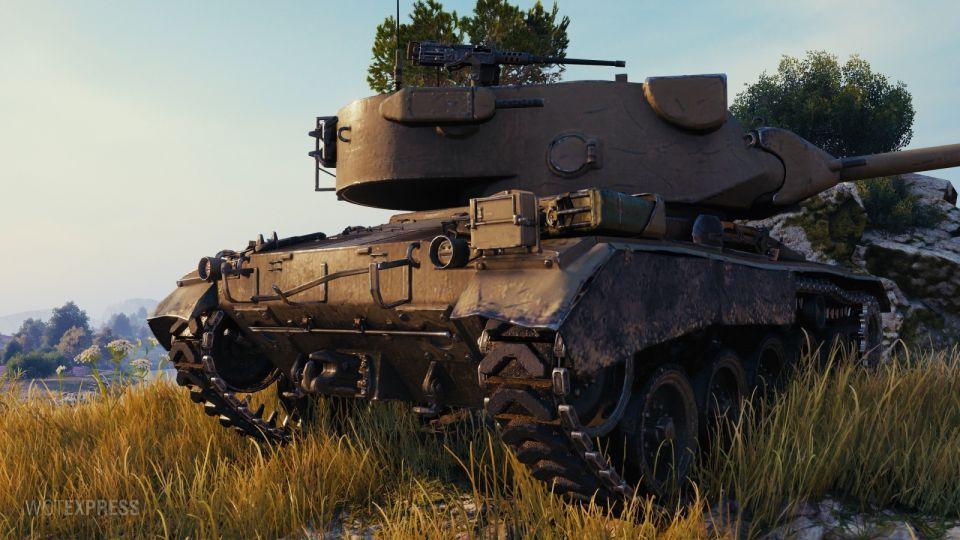 Obrázky z bojiště M24E2 Super Chaffee