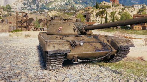 Herní obrázky tanku CS-53
