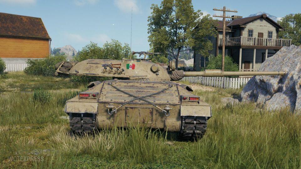 Aktualizace 1.10.1.3: Úpravy tanku Progetto 71