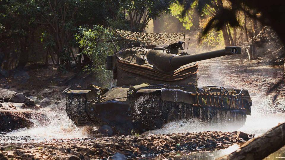 """3D styl """"Jávský nosorožec"""" pro AMX 50 B"""