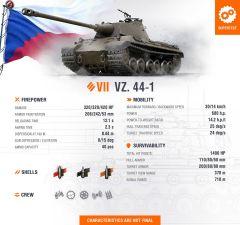 Československý VII těžký tank na supertestu