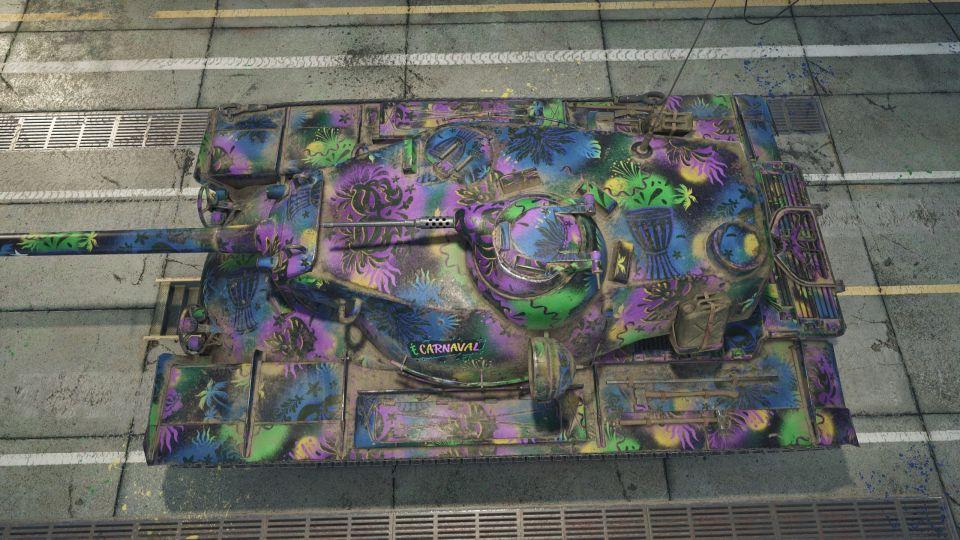 """1.11.1: Maskování """"Carnival Day / Night"""""""