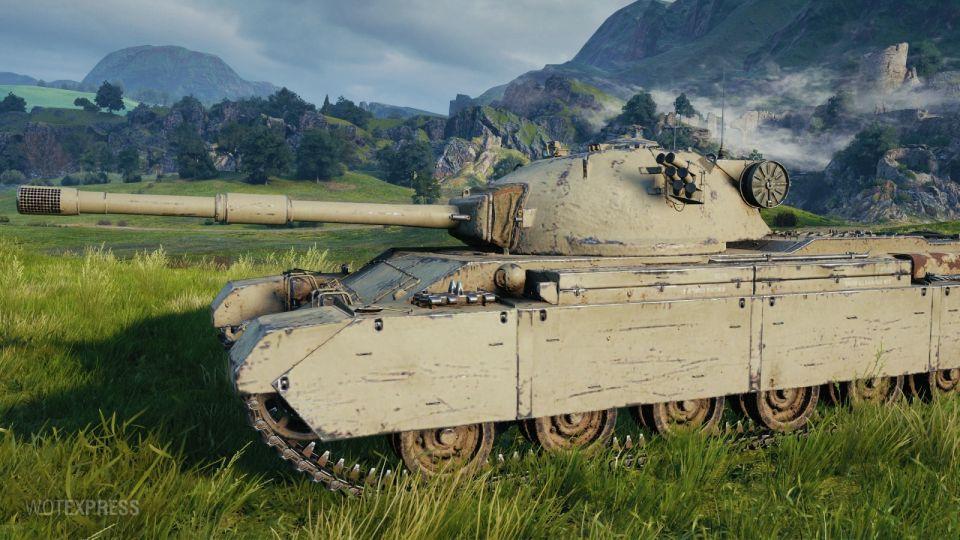 Supertest: Změna vlastností tanku Charlemagne