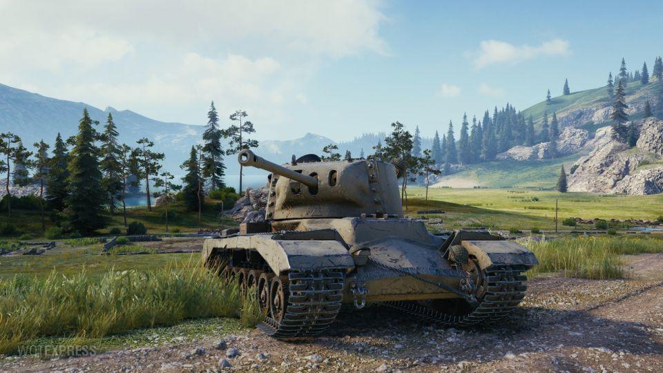 Fotky tanku Valiant z bojiště