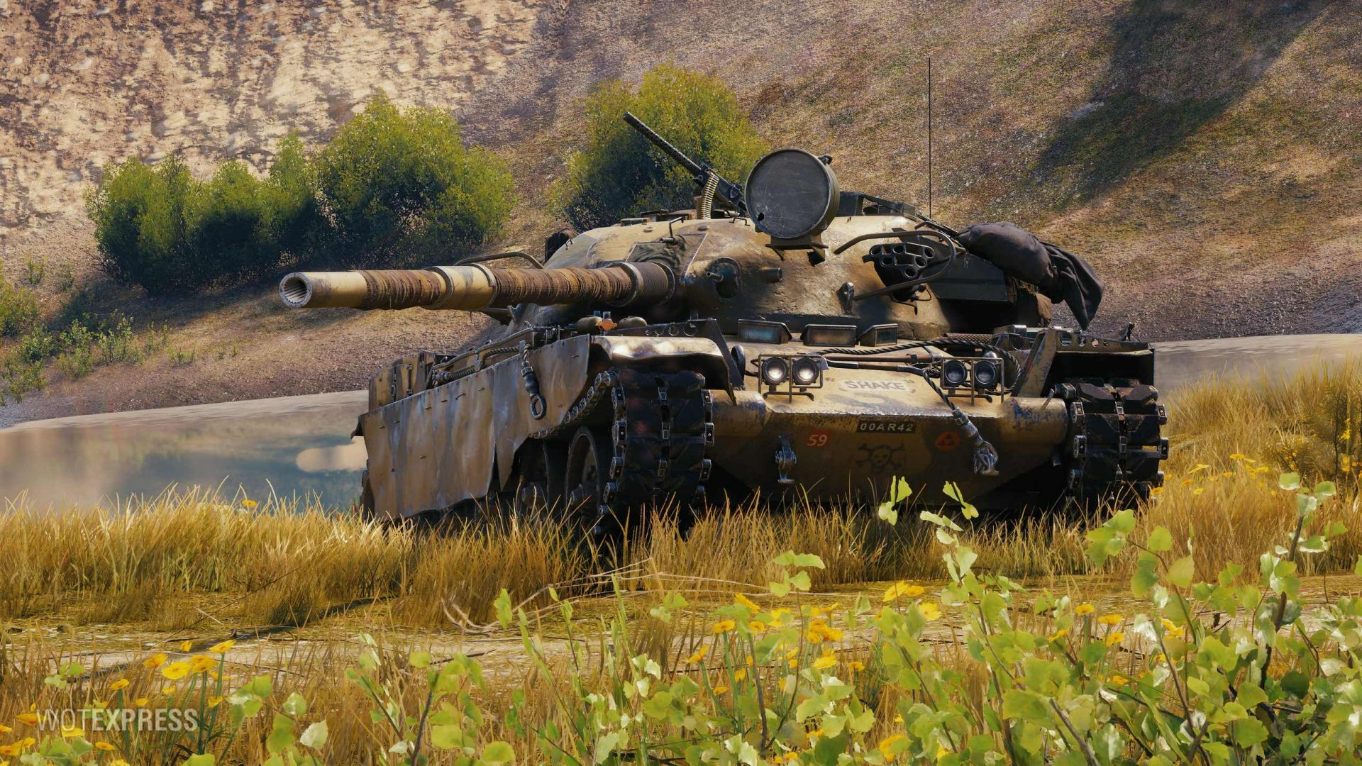 T95 FV4201 Chieftain