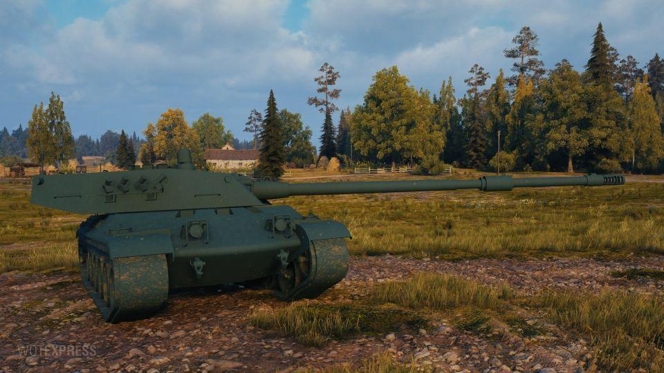 Supertest: Změny na tanku Progetto C50 mod. 66