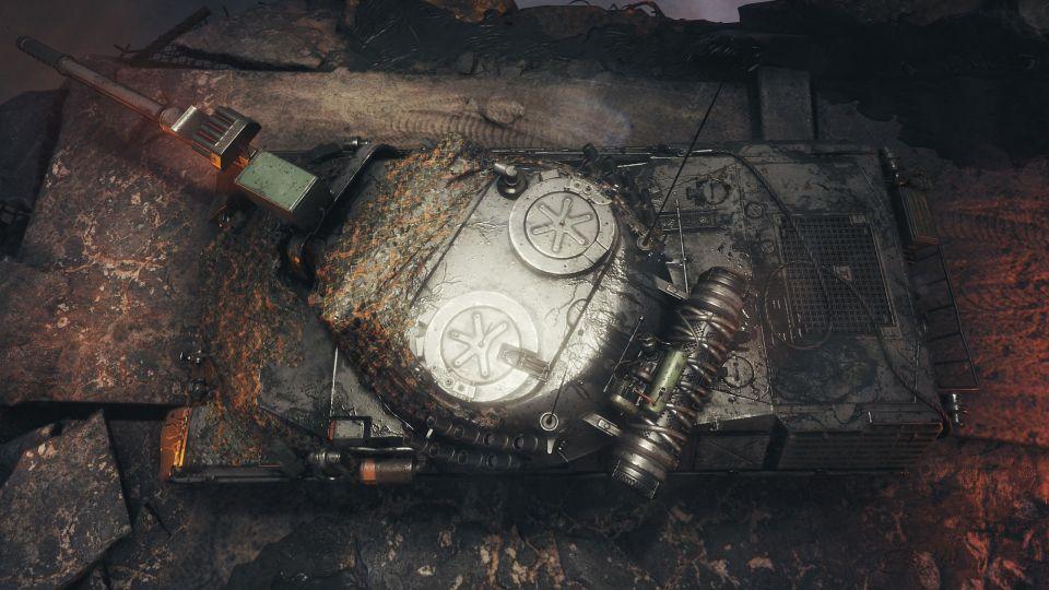 Mirny-13: Obrázky speciální garáže