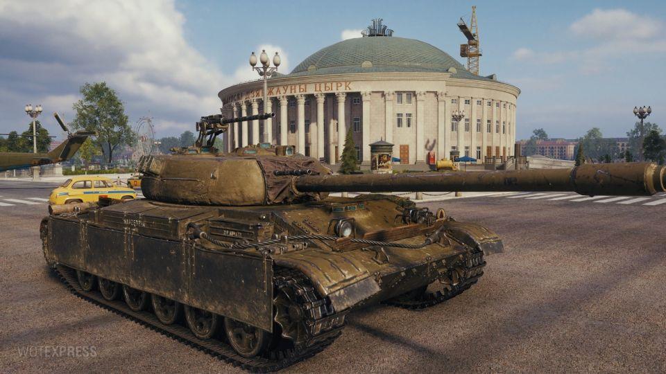 1.10: Zkušenostní nároky nových polských tanků