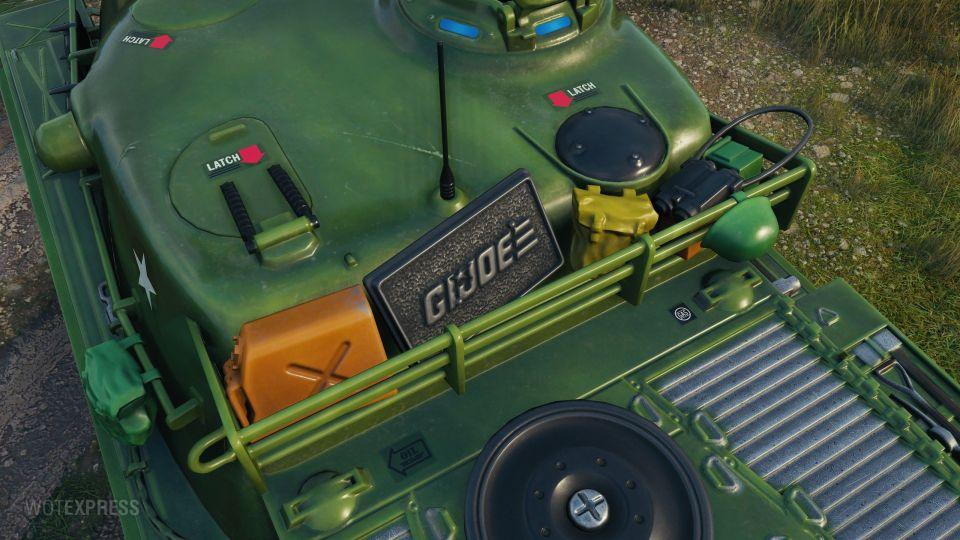 """""""G.I. Joe"""" 3D maskování pro TS-5"""